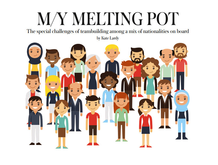 melting pot multicultural backgrounds